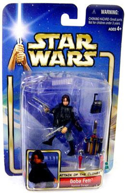 Star Wars Attack of the Clones Saga 2002 Boba Fett Action Figure [Kamino Escape]