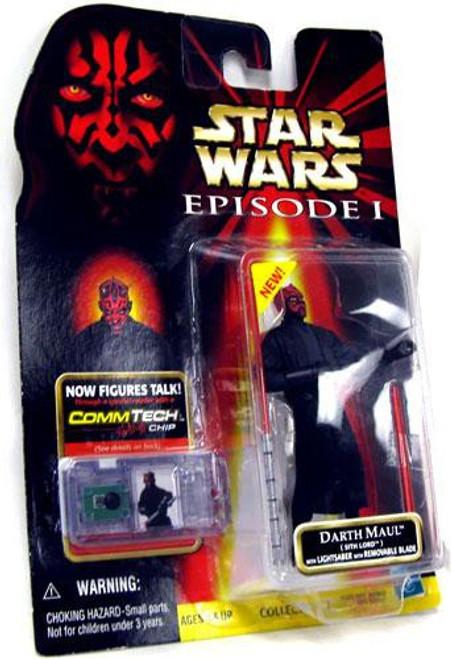Star Wars Phantom Menace 1999 Episode I Basic Darth Maul Action Figure
