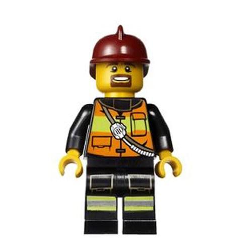 LEGO City Fireman Minifigure [Loose]
