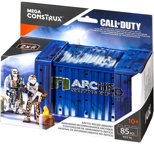 Mega Bloks Call of Duty Artic Recon Armory Set