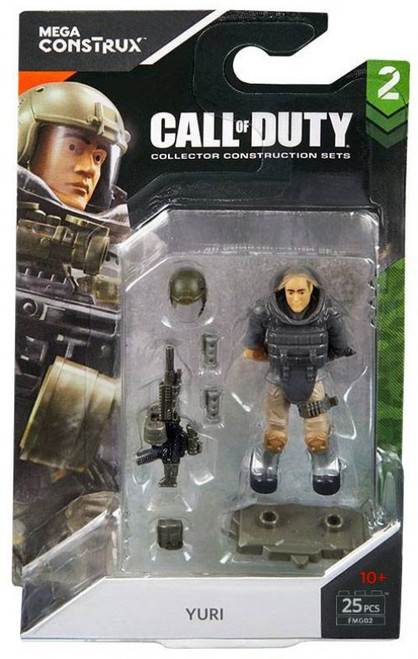 Call of Duty Specialists Series 2 Yuri Mini Figure