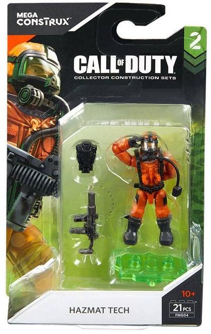 Call of Duty Specialists Series 2 Hazmat Tech Mini Figure