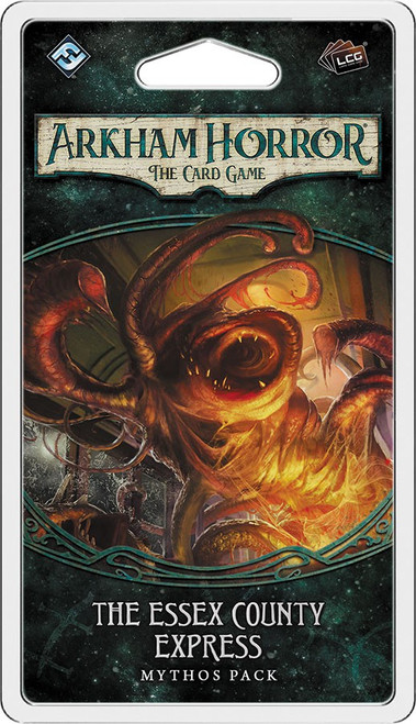 Arkham Horror The Card Game Dunwich Legacy Essex County Express Mythos Pack