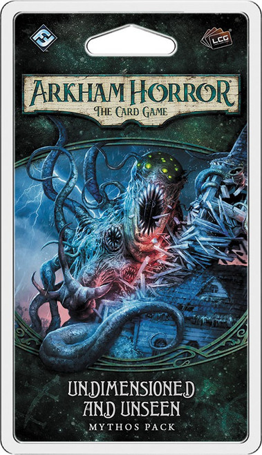 Arkham Horror The Card Game Dunwich Legacy Undimensioned & Unseen Mythos Pack