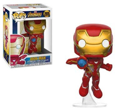 Funko Marvel Universe Avengers Infinity War POP! Marvel Iron Man Vinyl Figure #285