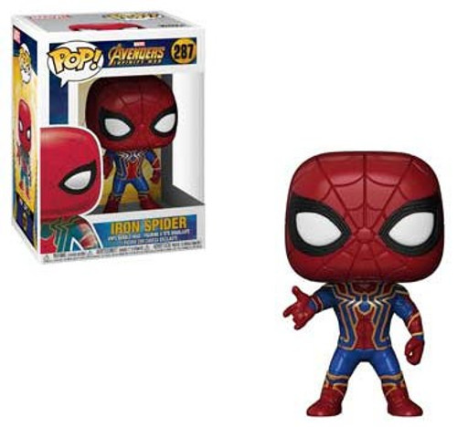 Funko Marvel Universe Avengers Infinity War POP! Marvel Iron Spider Vinyl Figure #287