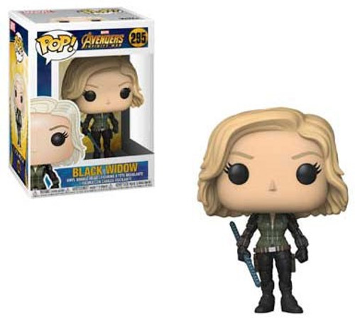 Funko Marvel Universe Avengers Infinity War POP! Marvel Black Widow Vinyl Figure #295 [Infinity War]