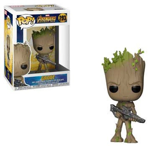 Funko Marvel Universe Avengers Infinity War POP! Marvel Groot Vinyl Figure #293