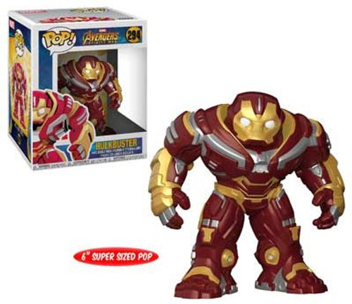 Funko Marvel Universe Avengers Infinity War POP! Marvel Hulkbuster Vinyl Figure #294 [Super-Sized]