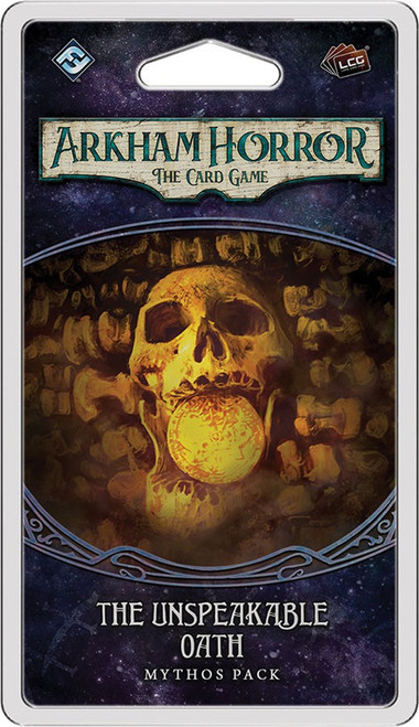 Arkham Horror The Card Game The Path to Carcosa The Unspeakable Oath Mythos Pack