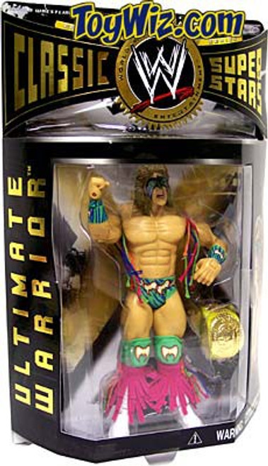 WWE Wrestling Classic Superstars Series 3 Ultimate Warrior Action Figure [Damaged Package]