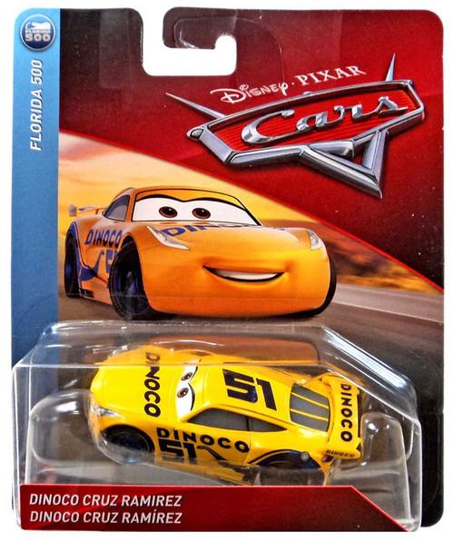 Disney / Pixar Cars Cars 3 Florida 500 Dinoco Cruz Ramirez Diecast Car