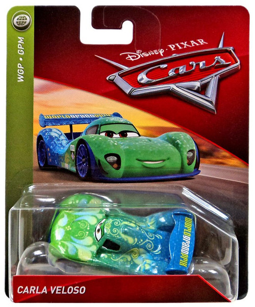 Disney / Pixar Cars Cars 3 WGP Carla Veloso Diecast Car