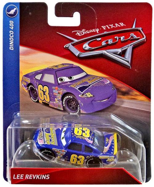 Disney / Pixar Cars Cars 3 Dinoco 400 Lee Revkins Diecast Car