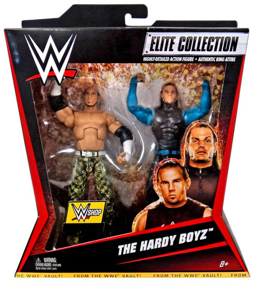 WWE Wrestling Battle Pack Matt & Jeff Hardy Exclusive Action Figure 2-Pack [The Hardy Boyz]