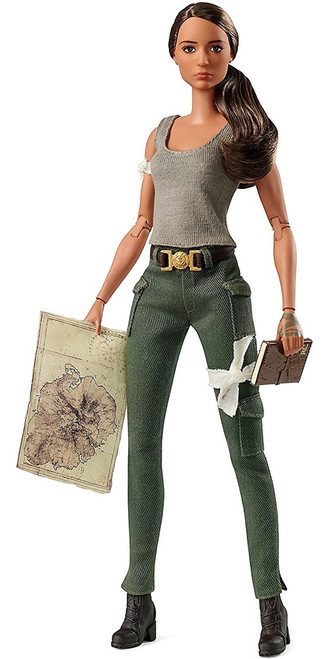 Barbie Tomb Raider Lara Croft 11.5-Inch Doll
