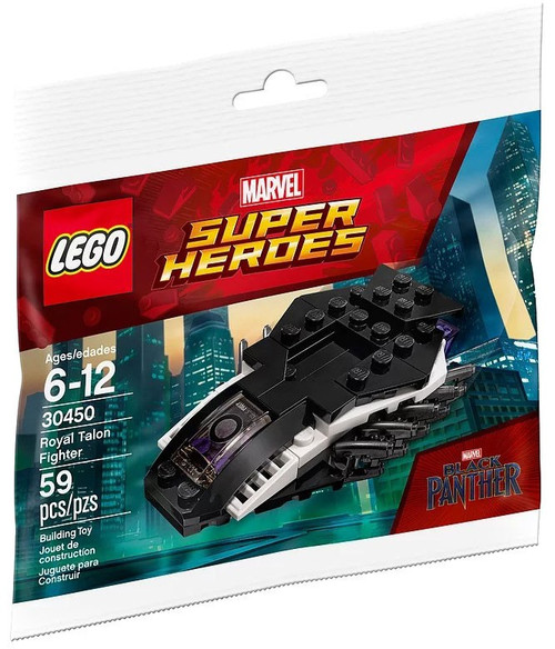 LEGO Marvel Super Heroes Black Panther Royal Talon Fighter Set #30450