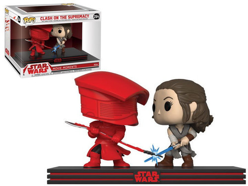 Funko The Last Jedi POP! Star Wars Rey & Praetorian Guard Vinyl Figure 2-Pack [Movie Moments]