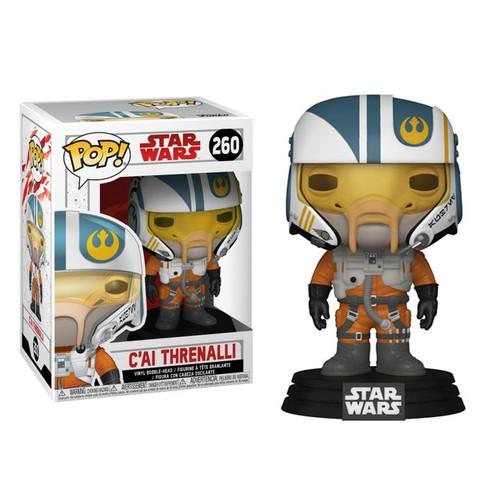 Funko The Last Jedi POP! Star Wars C'ai Threnalli Vinyl Bobble Head #260