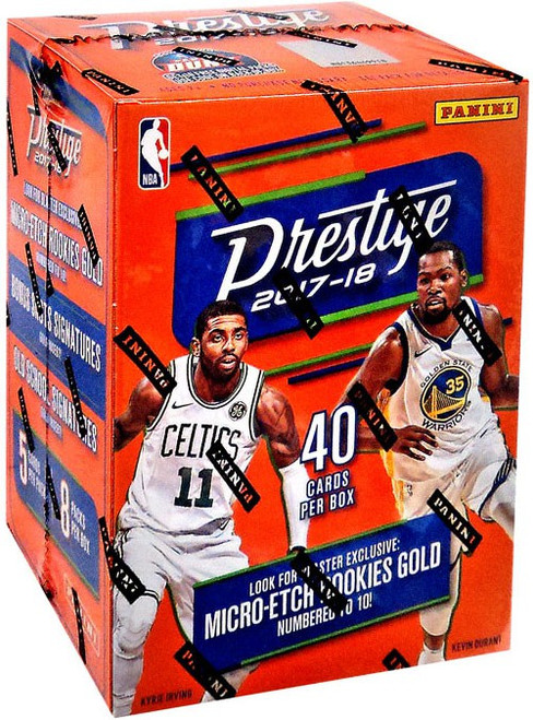 NBA Panini 2017-18 Prestige Basketball Trading Card BLASTER Box [8 Packs]