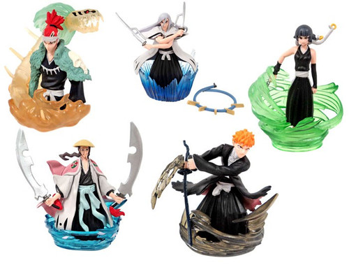 Bleach Series 3 Action Pose Set of 5 PVC Figures