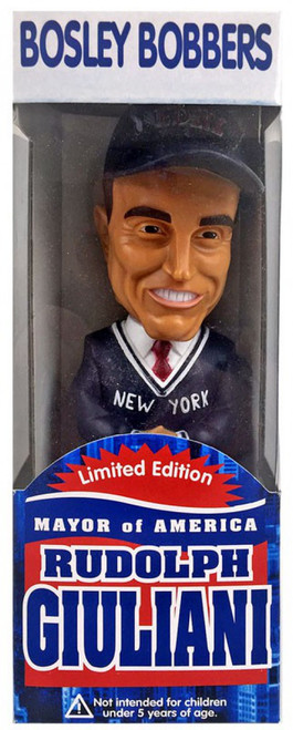 Bosley Bobbers Rudy Giuliani Bobble Head
