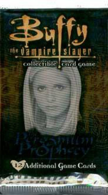 Buffy The Vampire Slayer Collectible Card Game The Pergamum Prophecy Booster Pack