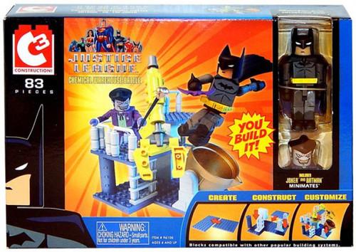 Batman C3 Chemical Warehouse Mini Figure Playset