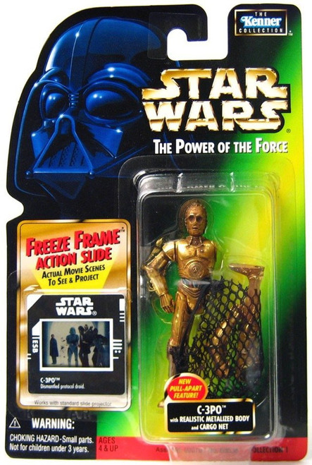Star Wars Return of the Jedi Power of the Force POTF2 Kenner Collection C-3PO Action Figure