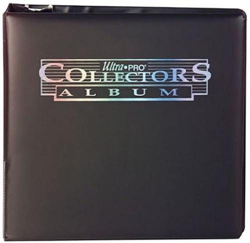 Ultra Pro 3 Ring Collectors Card Album Binder [Black]