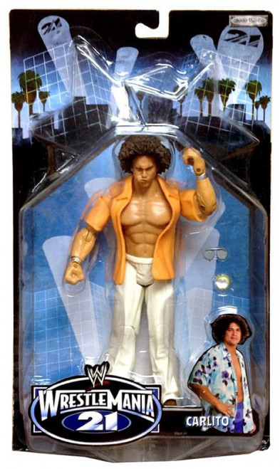 WWE Wrestling WrestleMania 21 Series 3 Carlito Exclusive Action Figure