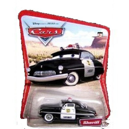 Disney / Pixar Cars Series 1 Sheriff Diecast Car