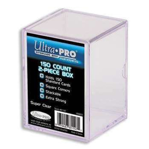 Ultra Pro Card Supplies Clear Deck Box [150 Count]