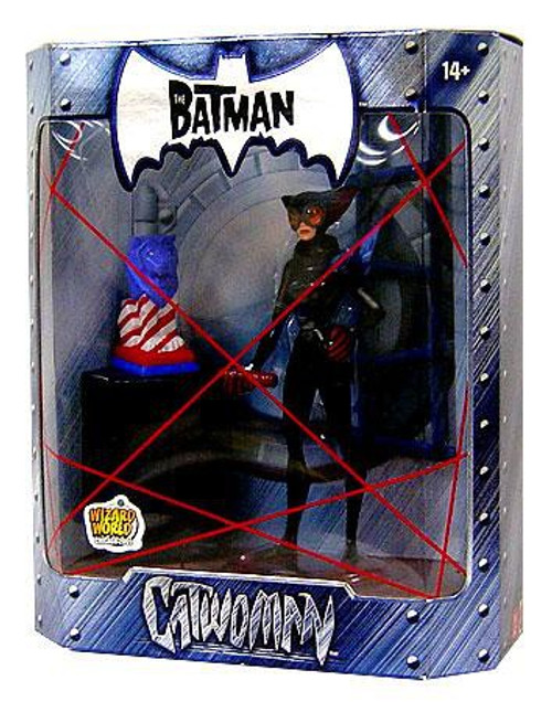 The Batman Catwoman Exclusive Action Figure [Stars & Stripes Statue Variant]