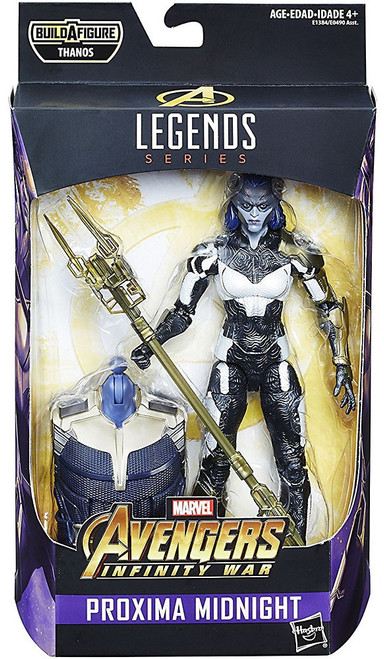 Avengers Infinity War Marvel Legends Thanos Series Proxima Midnight Action Figure