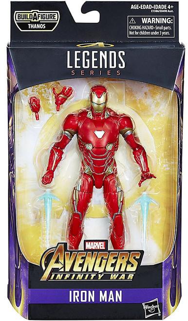 Avengers Infinity War Marvel Legends Thanos Series Iron Man Action Figure