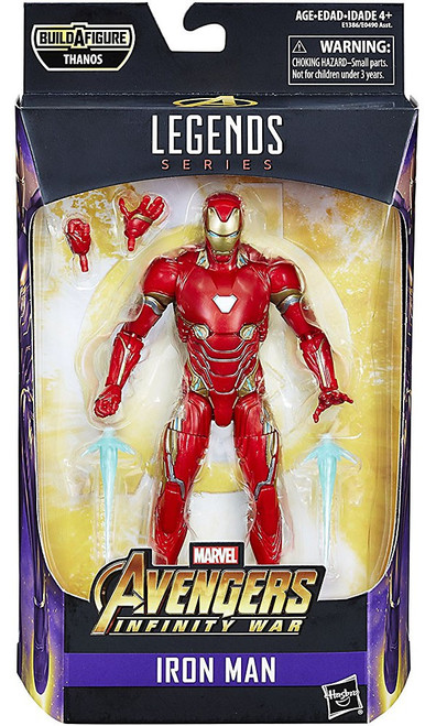 Avengers Infinity War Marvel Legends Thanos Series Iron Man Action Figure