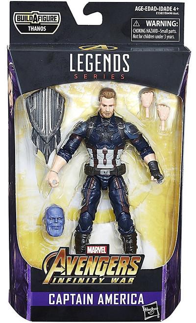 Avengers Infinity War Marvel Legends Thanos Series Captain America Action Figure