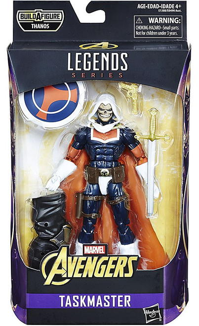 Avengers Infinity War Marvel Legends Thanos Series Taskmaster Action Figure