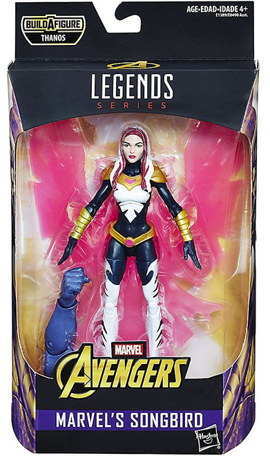 Avengers Infinity War Marvel Legends Thanos Series Songbird Action Figure