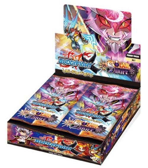 Future Card BuddyFight Trading Card Game Buddy Legends Solar Strife X Booster Box BFE-X2-BT01A [30 Packs]