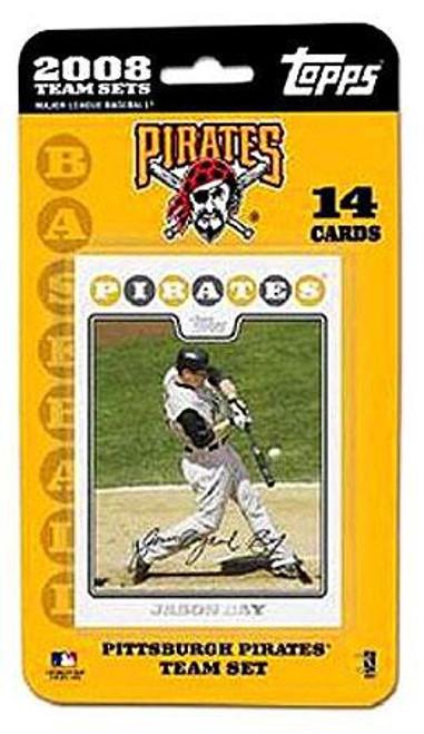 MLB 2008 Baseball Pittsburgh Pirates Trading Card Team Set