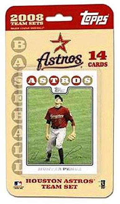 MLB 2008 Baseball Houston Astros Trading Card Team Set