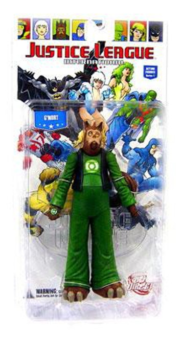 DC Green Lantern Justice League International Series 1 G'Nort Action Figure