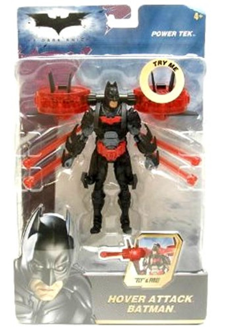 The Dark Knight Power Tek Batman Action Figure [Hover Attack]