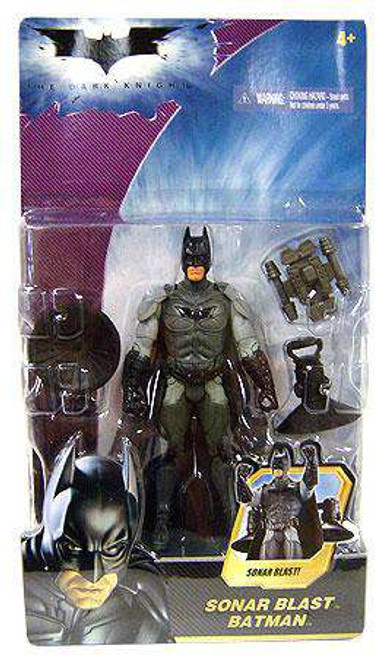 The Dark Knight Batman Action Figure [Sonar Blast]
