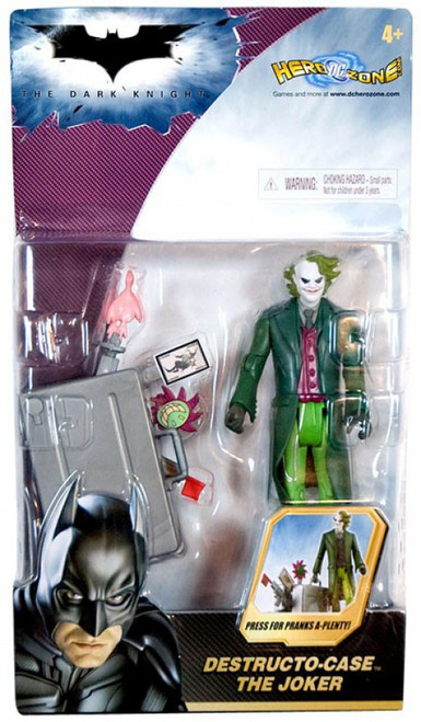 Batman The Dark Knight The Joker Action Figure [Destructo Case]