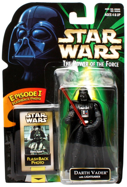 Star Wars A New Hope Power of the Force POTF2 Flashback Darth Vader Action Figure