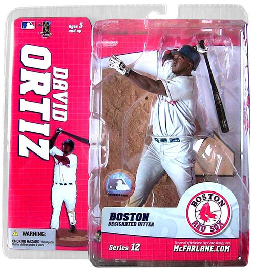 McFarlane Toys MLB Boston Red Sox Sports Picks Series 12 David Ortiz Action Figure [Gray Jersey Variant]