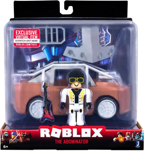 Roblox The Abominator Vehicle & Action Figure [RANDOM Box Design, Same Exact Contents!]